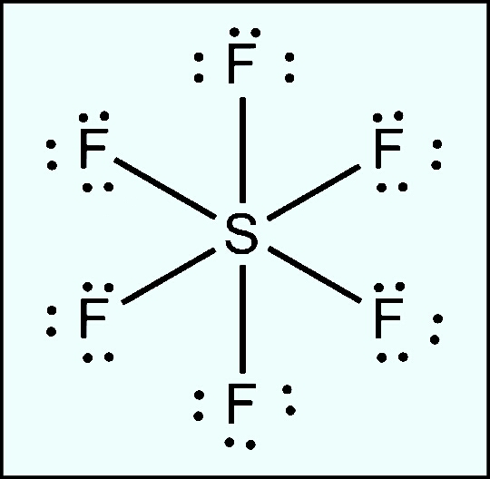 Sf6 Lewis Structure